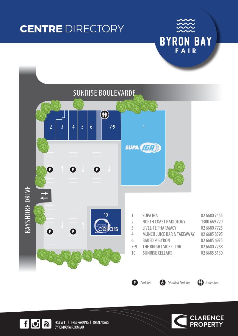 Byron Bay Fair Centre Directory